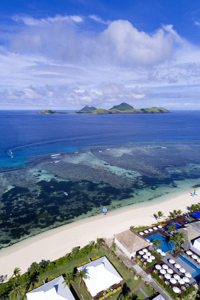Sheraton Resort and Spa Tokoriki Island-Aerial<br/>Image from Leonardo