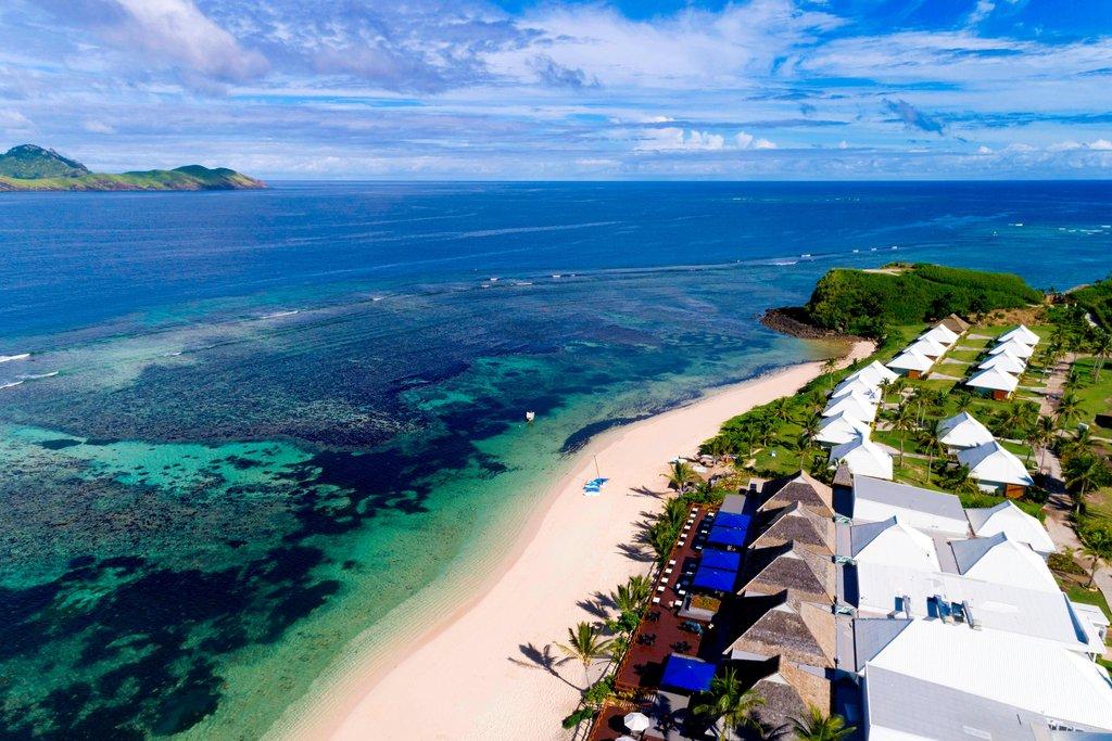 Musket Cove Island Resort-Aerial<br/>Image from Leonardo