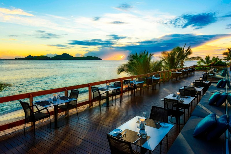 Musket Cove Island Resort-Waitui House Restaurant Deck<br/>Image from Leonardo