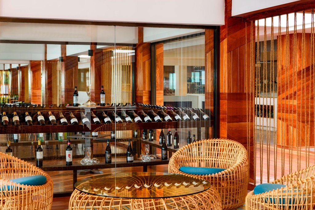 Musket Cove Island Resort-Wine Room<br/>Image from Leonardo