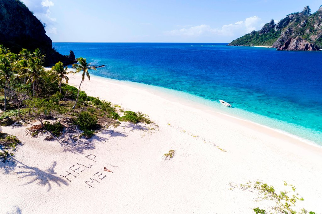 Sheraton Resort and Spa Tokoriki Island-Mondriki Island Beach<br/>Image from Leonardo