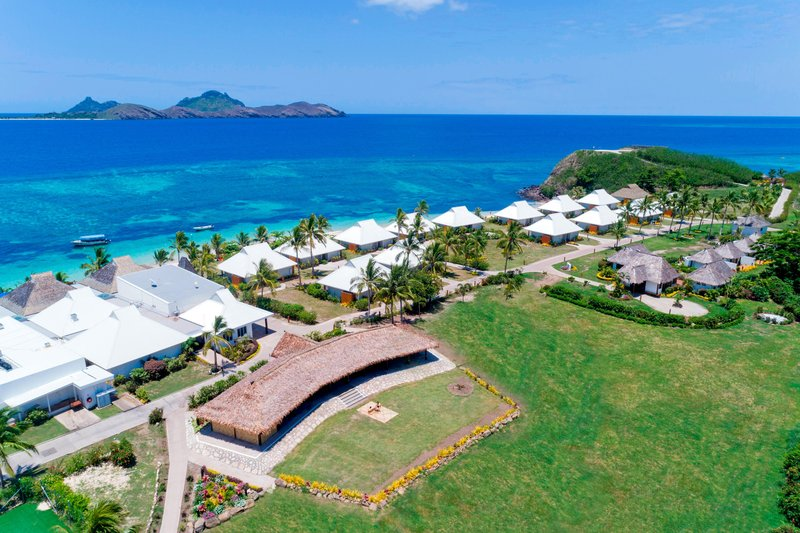 Musket Cove Island Resort-Coco Palms Aerial View<br/>Image from Leonardo