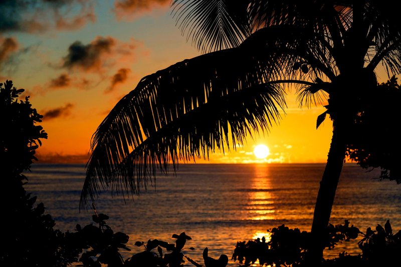 Musket Cove Island Resort-Tokoriki Sunset<br/>Image from Leonardo