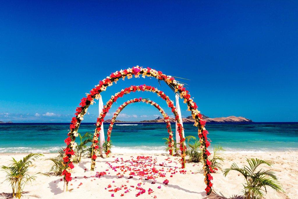 Musket Cove Island Resort-Beach Wedding<br/>Image from Leonardo