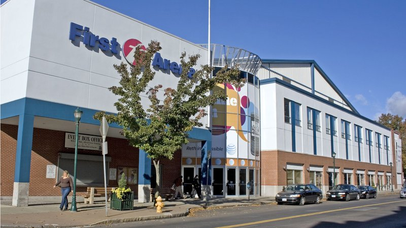Holiday Inn Elmira - Riverview-First Arena - just a few short blocks away from our front door!<br/>Image from Leonardo