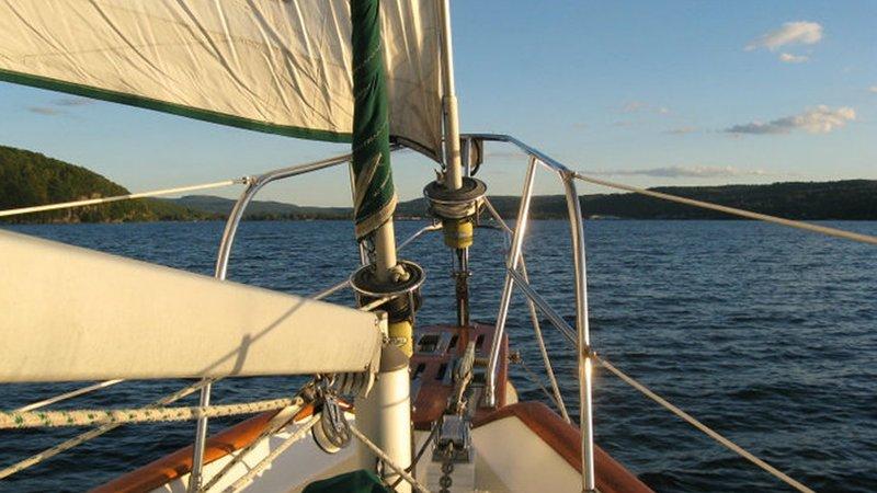 Holiday Inn Elmira - Riverview-Sailing on Seneca Lake, Watkins Glen<br/>Image from Leonardo