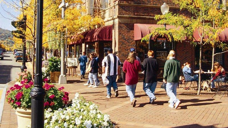 Holiday Inn Elmira - Riverview-Historic Market Street, downtown Corning NY<br/>Image from Leonardo