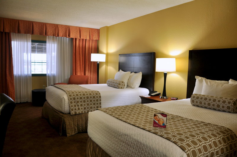 Crowne Plaza Little Rock-Crowne Plaza Downtown Little Rock Double Bed Guest Room<br/>Image from Leonardo