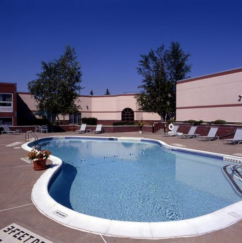 Holiday Inn Utica-Weddings and Sports Teams love our heated outdoor pool<br/>Image from Leonardo