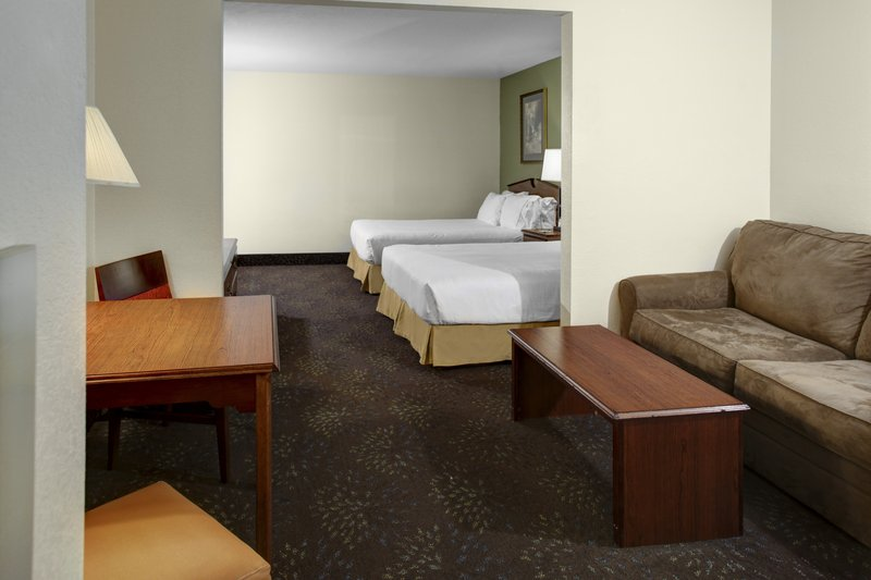 Holiday Inn Express & Suites Deadwood - Gold Dust Casino-Two Queen Bedroom Suite at Holiday Inn Express in Deadwood SD<br/>Image from Leonardo