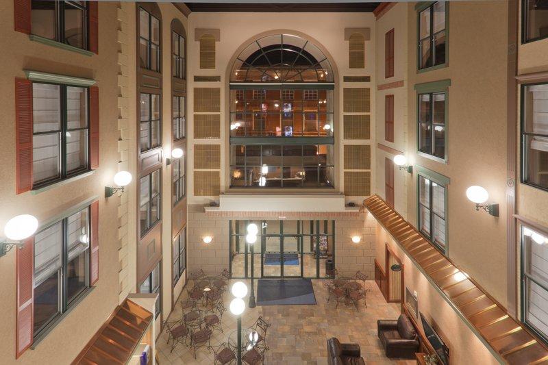 Holiday Inn Express & Suites Deadwood - Gold Dust Casino-Hotel Lobby & Entrance - Holiday inn Express: Lodging in Deadwood <br/>Image from Leonardo