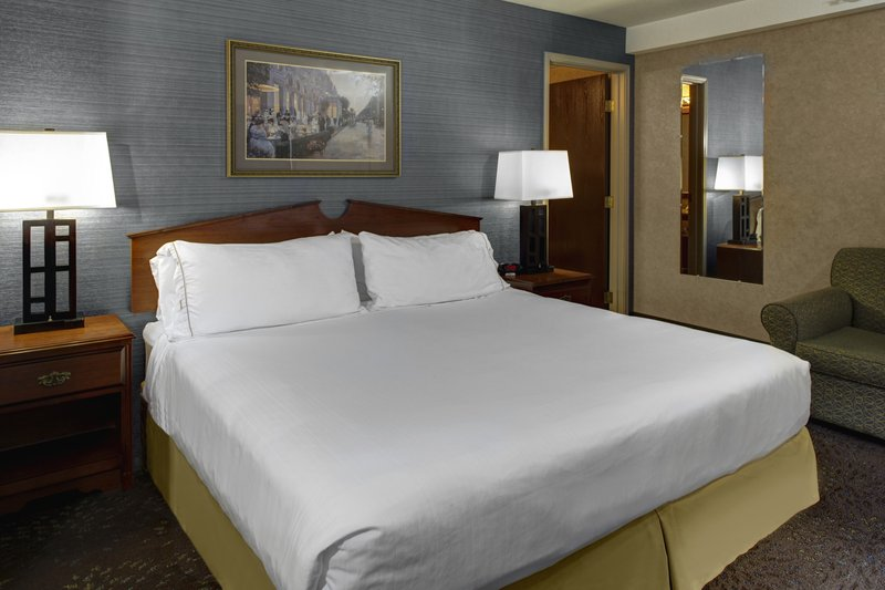 Holiday Inn Express & Suites Deadwood - Gold Dust Casino-King Bed Guest Room at Deadwood Holiday Inn Express Hotel<br/>Image from Leonardo