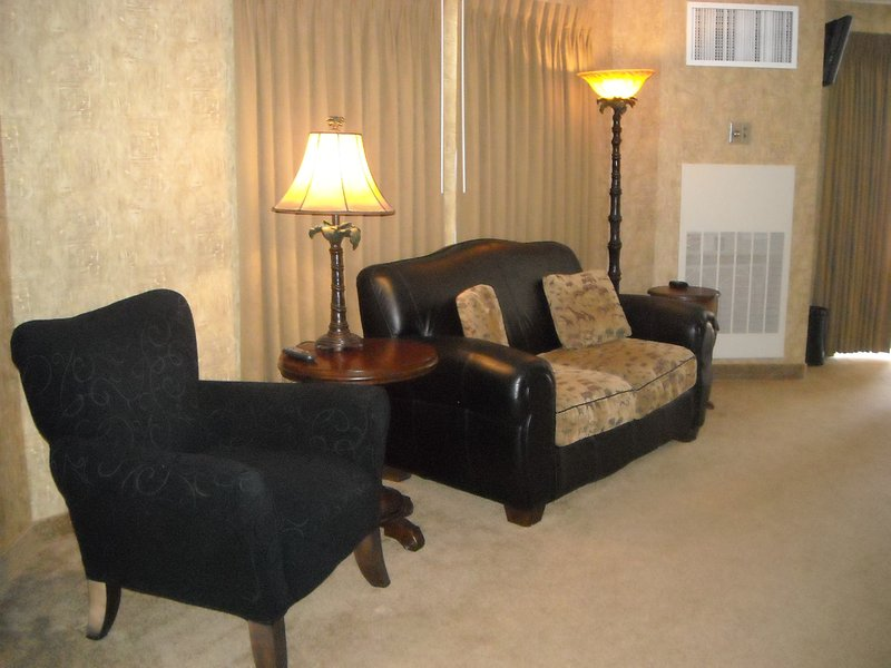 Holiday Inn Express & Suites Deadwood - Gold Dust Casino-Deadwood SD Holiday inn Express Hotel Jacuzzi Room Sitting Area<br/>Image from Leonardo