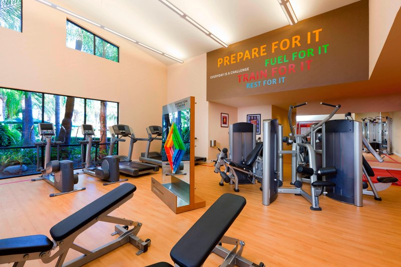 Sheraton Park Hotel-Fitness Center<br/>Image from Leonardo