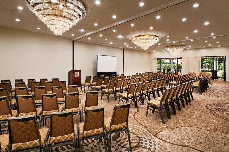 Sheraton Park Hotel-Garden Meeting Room - Theater Setup<br/>Image from Leonardo