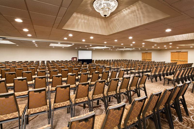 Sheraton Park Hotel-Palm Ballroom - Theater Setup<br/>Image from Leonardo