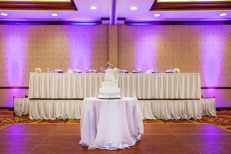 Crowne Plaza Milwaukee West-Ballroom Wedding Head Table<br/>Image from Leonardo