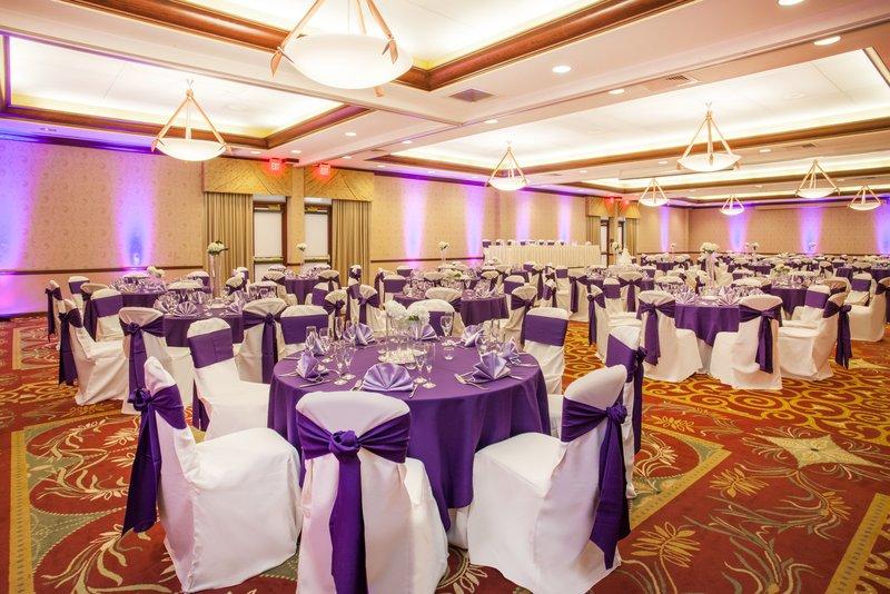 Crowne Plaza Milwaukee West-Ballroom Wedding Back Corner<br/>Image from Leonardo