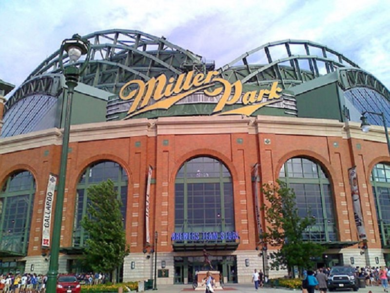 Crowne Plaza Milwaukee West-Complimentary shuttle to Miller Park-Home of the Milwaukee Brewers<br/>Image from Leonardo
