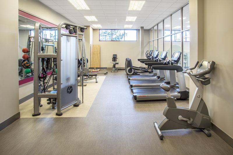 Crowne Plaza Milwaukee West-Fitness Center<br/>Image from Leonardo