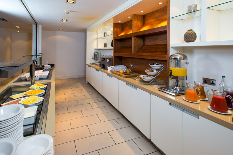 Holiday Inn Stevenage-Breakfast Buffet area<br/>Image from Leonardo