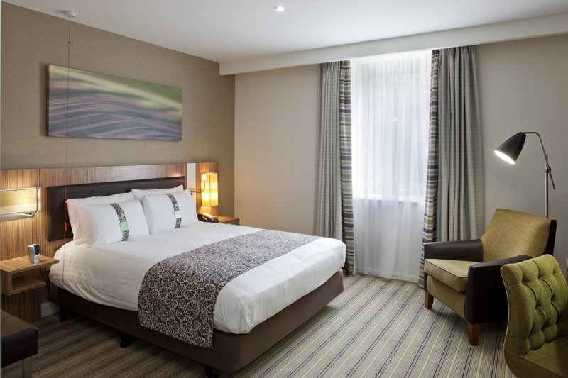 Holiday Inn Stevenage-Double Bed Guest Room with ergonomic furniture<br/>Image from Leonardo