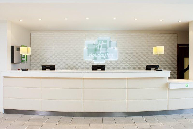 Holiday Inn Stevenage-Modern, contemporary, clutter free Front Desk<br/>Image from Leonardo