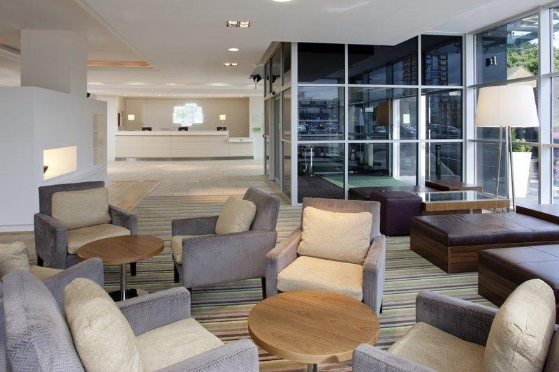 Holiday Inn Stevenage-Modern, contemporary & spacious Reception area<br/>Image from Leonardo