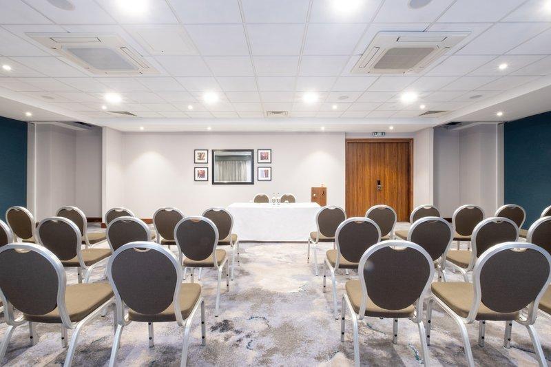 Holiday Inn Stevenage-Kimpton Suite Theatre Style setup<br/>Image from Leonardo