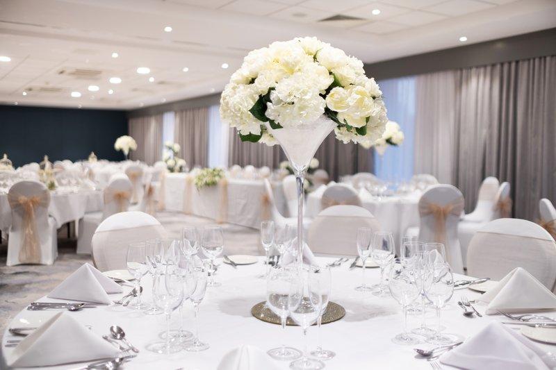 Holiday Inn Stevenage-Hertfordshire Wedding Setup<br/>Image from Leonardo
