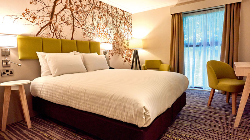 Holiday Inn Northampton West M1, Jct 16-Our double room with a luxurious king size bed<br/>Image from Leonardo