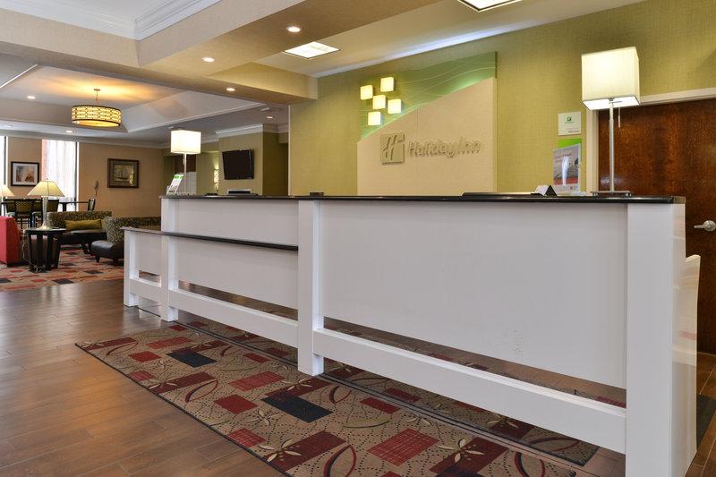 Holiday Inn New London - Mystic Area-Front Desk<br/>Image from Leonardo