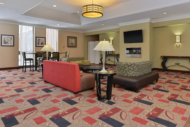 Holiday Inn New London - Mystic Area-Hotel Lobby<br/>Image from Leonardo