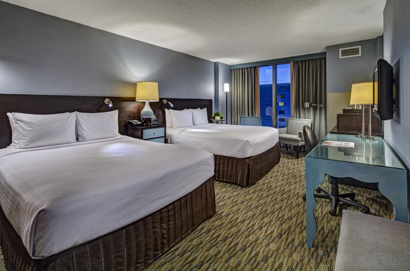 Crowne Plaza Lombard Downers Grove-Double Bed Guest Room<br/>Image from Leonardo