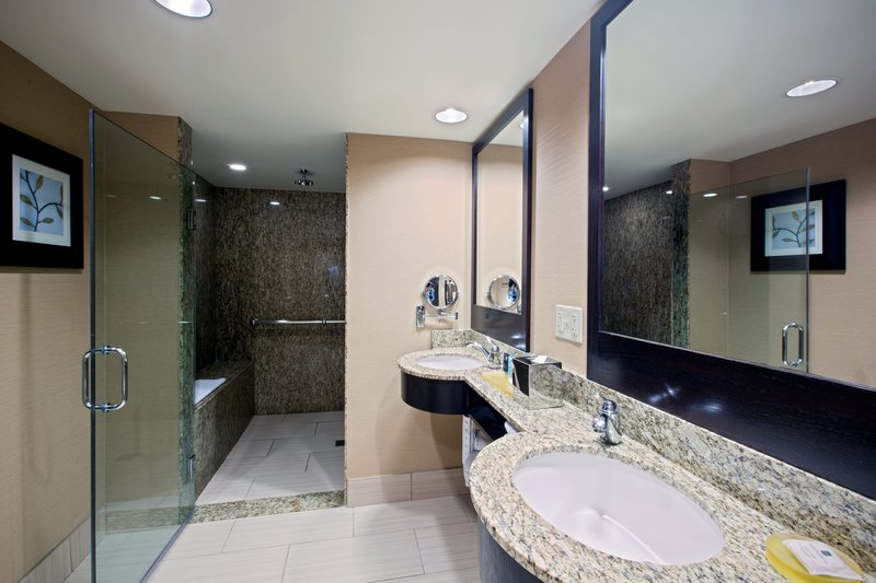 Crowne Plaza Lombard Downers Grove-King Suite Bath<br/>Image from Leonardo