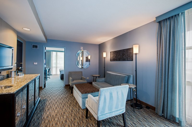 Crowne Plaza Lombard Downers Grove-ADA King Suite<br/>Image from Leonardo