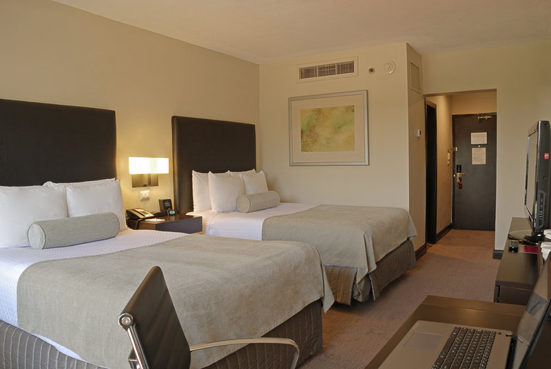Crowne Plaza San Salvador-Double Bed Guest Room<br/>Image from Leonardo