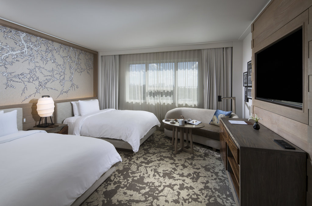 Nobu Hotel Miami Beach - Deluxe Room Two Queen <br/>Image from Leonardo