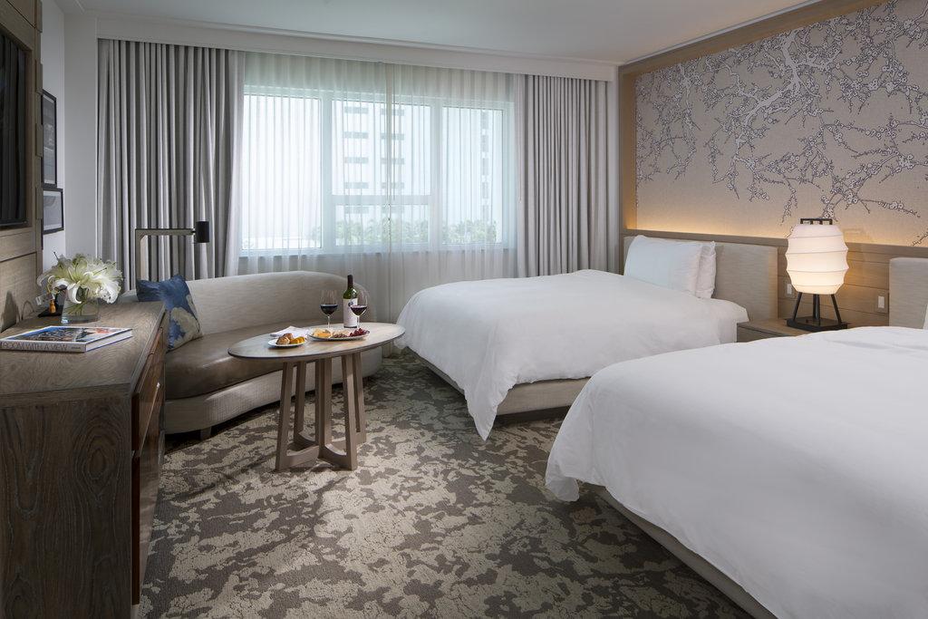 Nobu Hotel Miami Beach - Deluxe Room Two Queen Beds <br/>Image from Leonardo