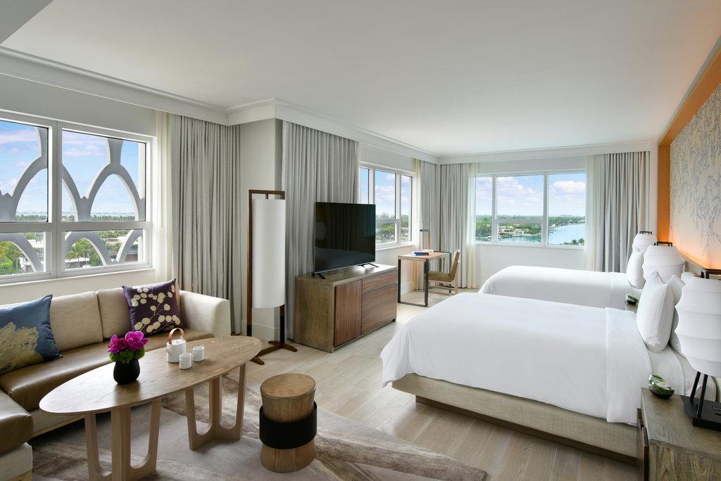 Nobu Hotel Miami Beach - Nobu Junior Suite Double <br/>Image from Leonardo