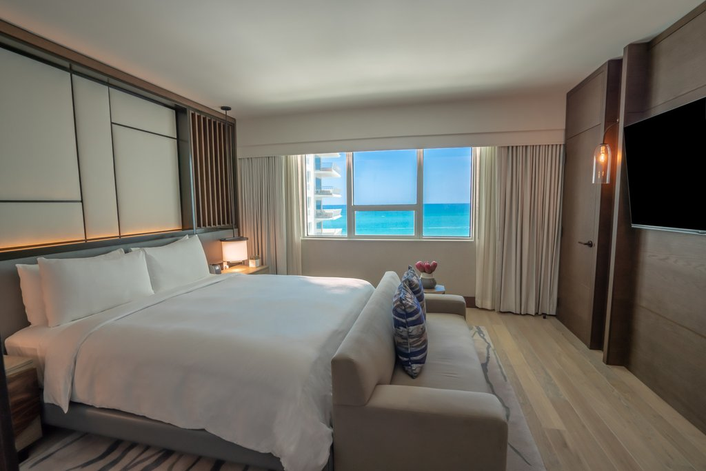 Nobu Hotel Miami Beach - Umi Suite King Bed <br/>Image from Leonardo