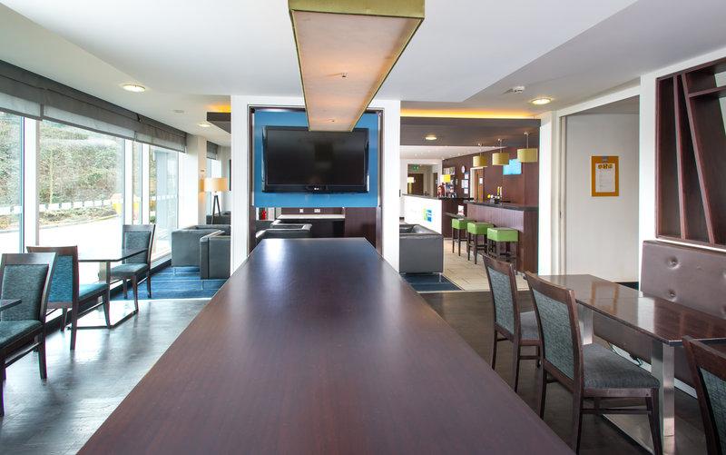 Holiday Inn Express Cambridge - Duxford M11, Jct.10-Breakfast Bar<br/>Image from Leonardo