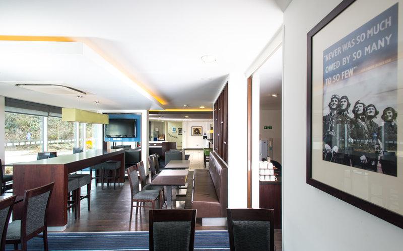 Holiday Inn Express Cambridge - Duxford M11, Jct.10-Hotel Lobby<br/>Image from Leonardo