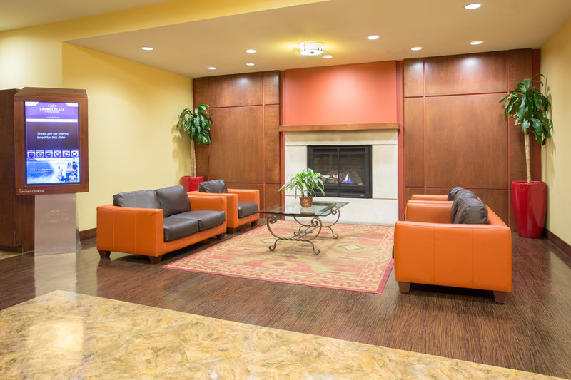 Crowne Plaza Denver Airport Convention Center-Warm up by our Hotel's Lobby Fireplace <br/>Image from Leonardo