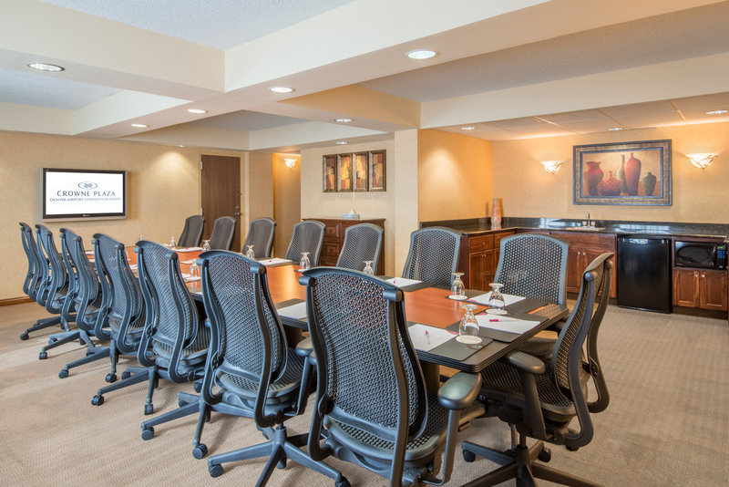Crowne Plaza Denver Airport Convention Center-Board Room and Hospitality Suite<br/>Image from Leonardo