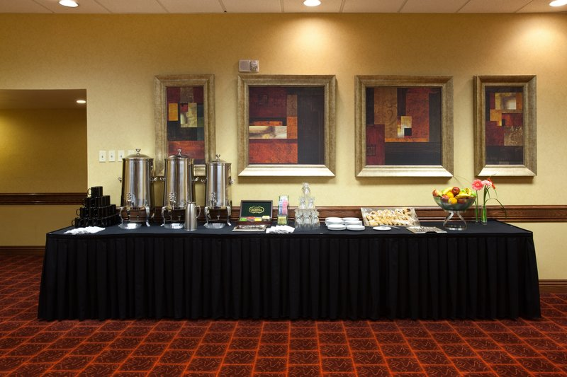 Crowne Plaza Denver Airport Convention Center-Full five-star amenities with in-house catering, coffee and tea.<br/>Image from Leonardo