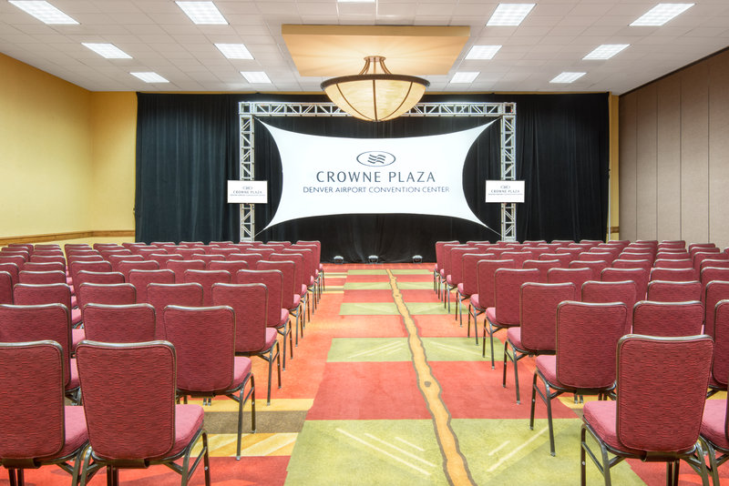Crowne Plaza Denver Airport Convention Center-Theater style is perfect for your next big conference.<br/>Image from Leonardo