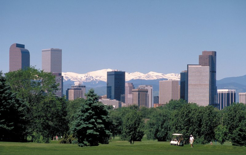 Crowne Plaza Denver Airport Convention Center-Denver Skyline Summer<br/>Image from Leonardo