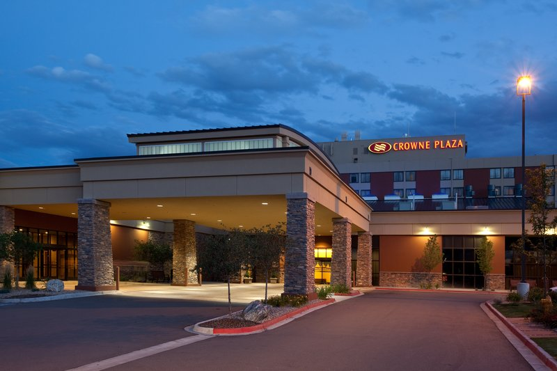 Crowne Plaza Denver Airport Convention Center-Hotel Entrance<br/>Image from Leonardo