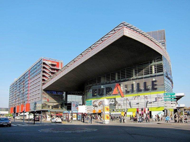 Crowne Plaza Lille - Euralille-Euralille<br/>Image from Leonardo
